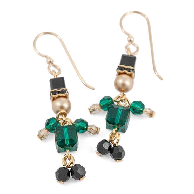 Irish Jig Earrings | Fusion Beads Inspiration Gallery