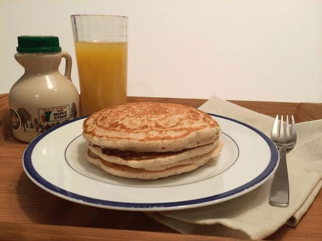 oat flour pancakes 1