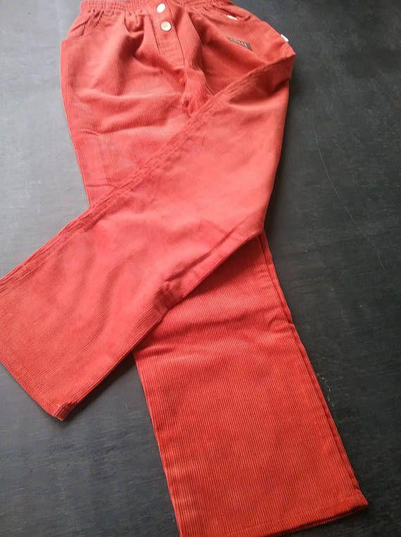 Cordhose Schlupfhose Orange Chilly 1990er Jahre Chici Kindermoden Frauen Madchen Young Fashion Massangabe Andern Moglich Vintage Mode Cordhose Vintage Mode