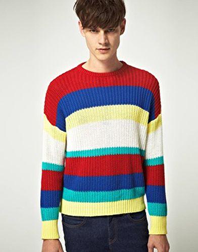 El sweter de los años 80.