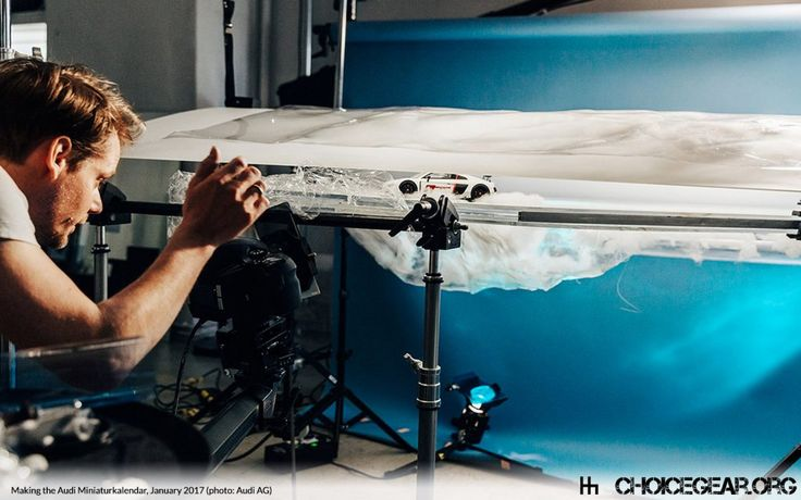 Audi Creates Incredible Photographic Calendar Using Scale Models - Choice Gear