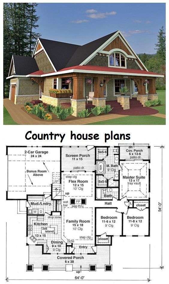 Best 25 house plans with photos ideas on pinterest for Cool house plans ranch