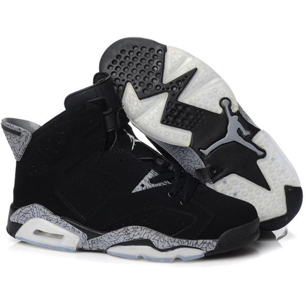 f56dd4f12e574d Nike Air Jordan 6 VI Retro Mens Shoes Black Sale