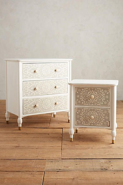 Tapestry Inlay Nightstand - anthropologie.com