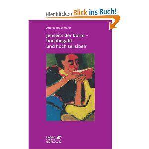 """""""Etwa zwei Millionen Kinder, Jugendliche und Erwachsene (!) in Deutschland gelten als hochbegabt. Sie können nicht nur intellektuelle Höchstleistungen in verschiedenen Bereichen erbringen, sondern sind in der Regel auch auf emotionaler und sensorischer Ebene überdurchschnittlich empfindsam. Fallbeispiele und Hintergrundinformationen geben Einblick in die Besonderheiten des emotionalen Erlebens, der Sinneswahrnehmung, der sozialen Beziehungen und der Bewältigung des Alltags."""""""