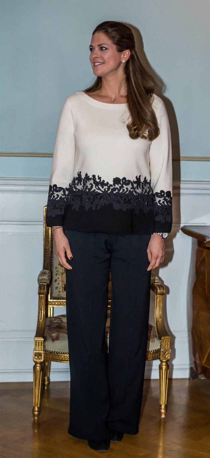 "PRINCESS MONARCHY - Today Princess Madeleine and her husband Christopher O'Neill visits the town of Gävle.  Lunch at the castle, visit a software company ""Esri Sverige"" then visit a recreation center ""Helge Andersberg"""