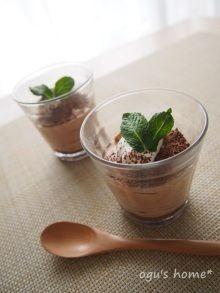 ふんわり♪チョコレートムース レシピブログ