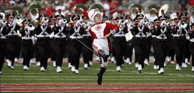 Ramp Entrance, The Ohio State University Marching Band