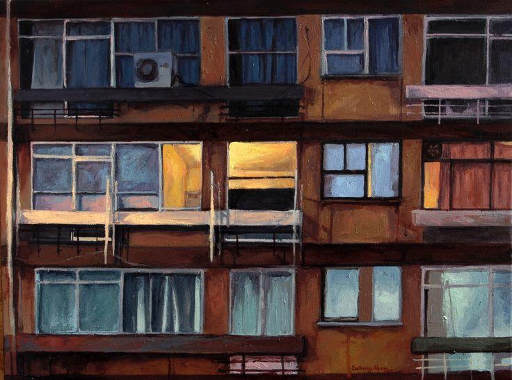 Setenay Alpsoy, 2009 / 45 x 60 cm. Tual üzerine yağlıboya / oil on canvas