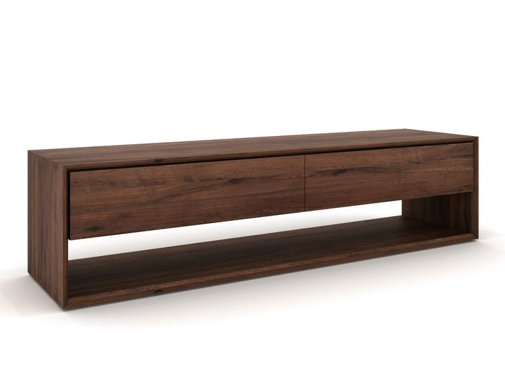 Walnut TV cabinet Walnut Nordic Collection by Ethnicraft