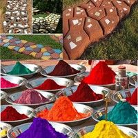 Shape:Powder Type:Step Stone You can use our Concrete Pigment powders to add color to Concrete, Coun