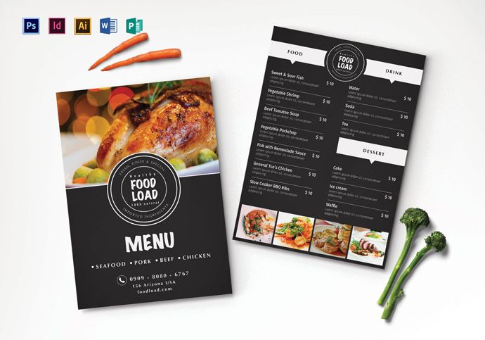 Top 31 Free Psd Restaurant Menu Templates 2019 Restaurant Menu