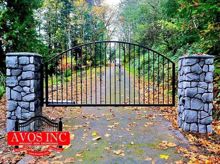 18 Best Images About Entryway Gate Amp White Vinyl Fencing