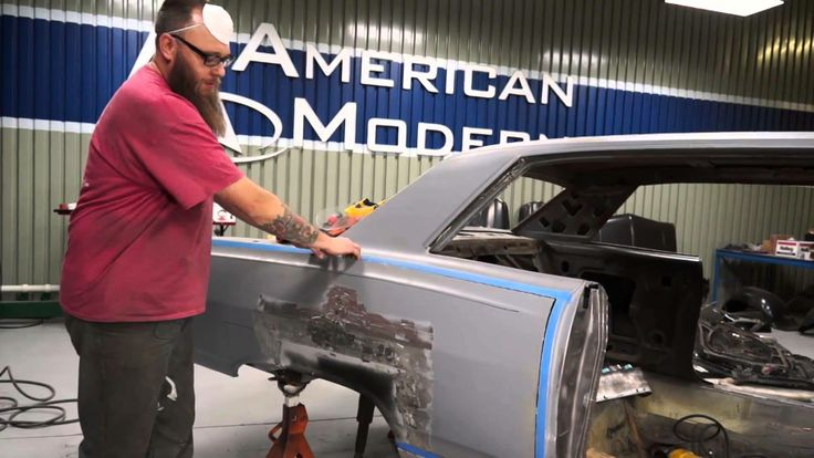 American Modern's The Build team is working on installing quarter panel skins on the 65 Malibu SS. They'll show you two different ways of doing this. Be sure to follow along on Facebook too: https://www.facebook.com/AmericanModernCollectorCar @American Modern Insurance Group