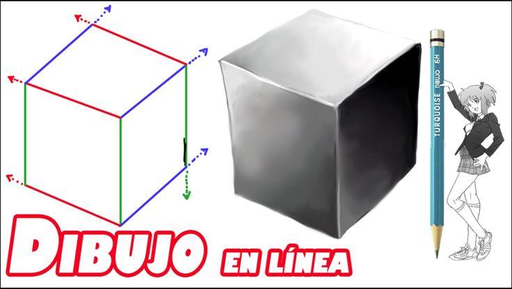 Como dibujar un cubo (explicado)