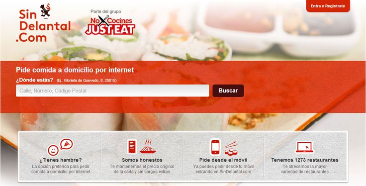 SinDelantal tackles the online food ordering and delivery market in Spain