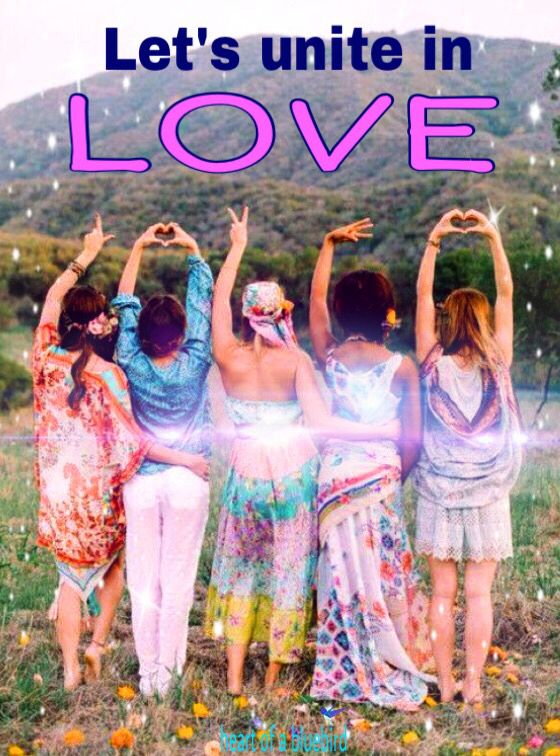 uniting in love ... ✨💜✨