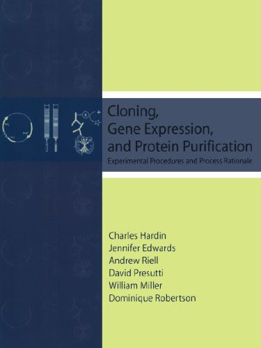 Cloning, Gene Expression, and Protein Purification: Experimental Procedures and Process Rationale:   On the forefront of modern scientific innovation, Cloning, Gene Expression and Protein Purification: Experimental Procedures and Process Rationale effectively doubles as a laboratory manual for students and a reference book for professional researchers. Designed for advanced undergraduate and beginning graduate students in molecular biology, this unique combination lecture/laboratory re...