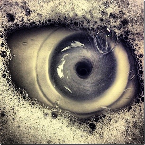Water eye hole.