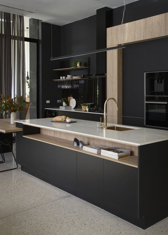 Monochromatic Kitchen Design Ct Monochromatic Kitchen