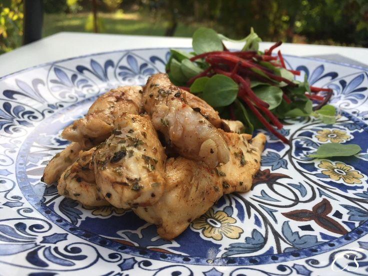 Mediterrán csirkemellcsíkok (LOW CARB, MINDENMENTES*)