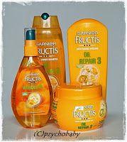 Pzycho Babys kleine Produkttest- und Beautyecke : Garnier Fructis Oil Repair 3 Serie - Pflege für das strapazierte Haar