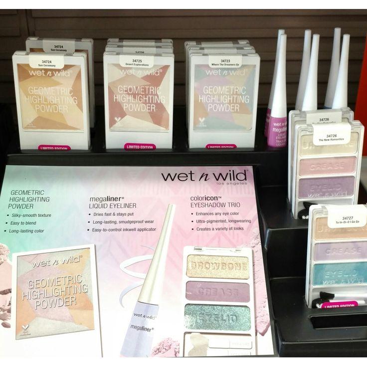 wet n wild geometric highlighting powder