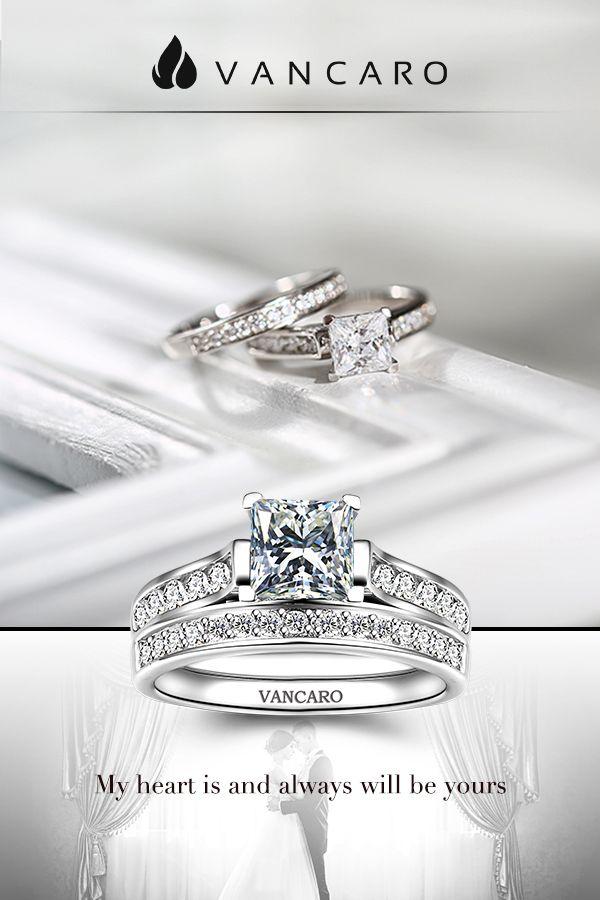 Princesse 2.5 Ct Blanc Sapphire Mariage Bague Argent 925 Fiançailles Bijoux