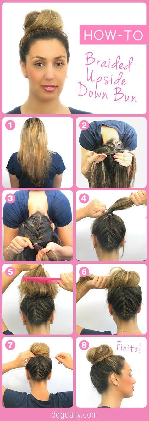 hair bun styles tutorial 17 best ideas about braid on 3490