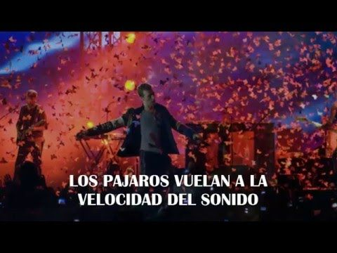 Speed Of Sound - Coldplay (Subtitulado en español) - YouTube