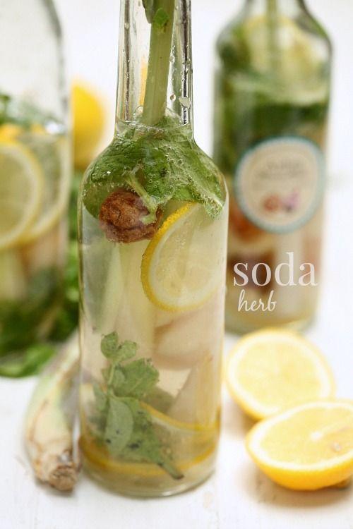 masam manis: Soda Herb sedapnya.. segar dan nyaman..
