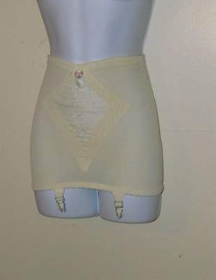 Olga Vintage Girdle with Attached Garters by BeauMondeVintage, $20.00