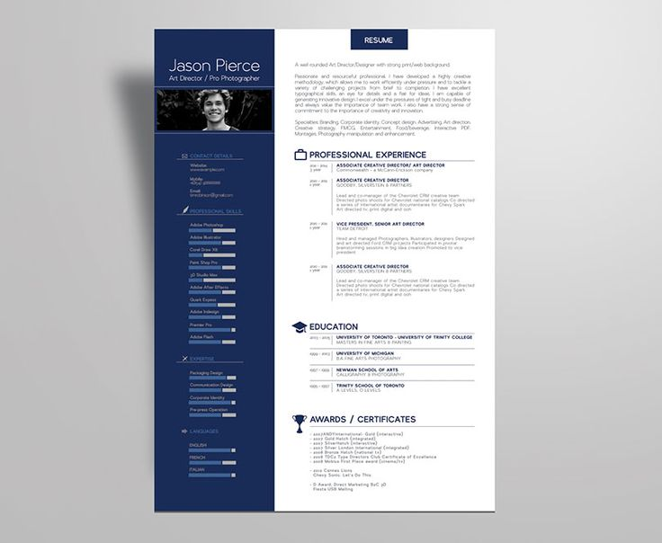 17 best CV Design images on Pinterest Resume, Resume design and - Resume Templates Website