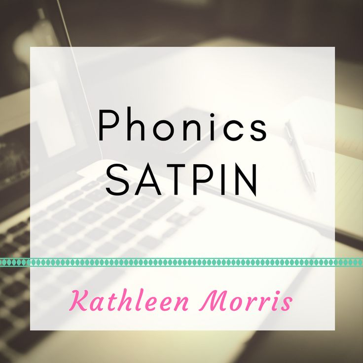 Ideas to learn SATPIN sounds