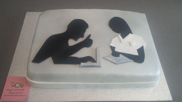 tarta de enfermera e informatico, mesasdechuchescastellon
