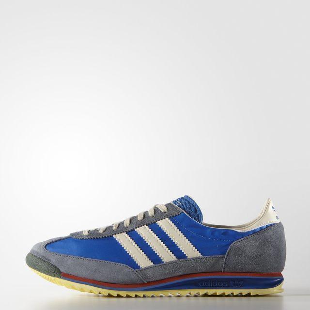 a033c562cdf6 zapatilla vintage SL 72 - Azul adidas