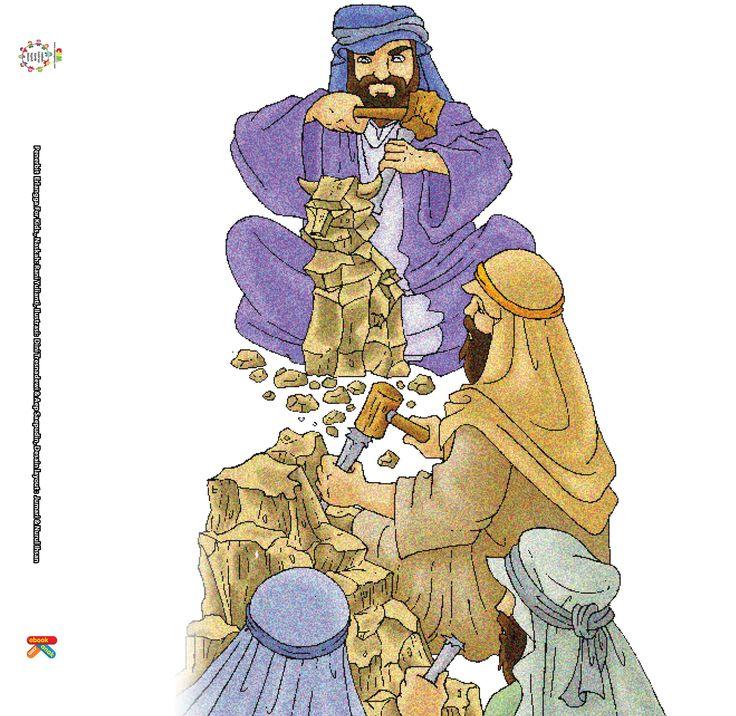 Ayah Nabi Ibrahim sendiri, Azar, seorang pembuat patung berhala. Ayah Nabi Ibrahim sangat bangga dengan pekerjaan membuat patung.