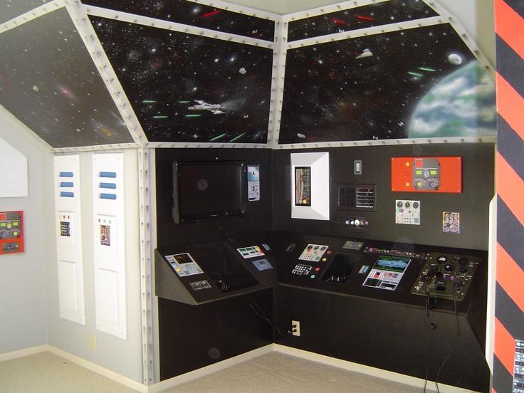 103 best Star Wars bedroom images on Pinterest Star wars bedroom - star wars bedroom ideas