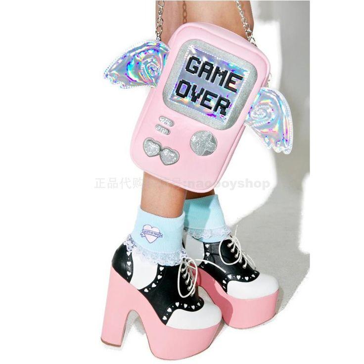 New Fun bonito carta personalidade fashion asas forma de jogo do laser mini aba bolsa feminina bolsa de ombro cadeia de embreagem saco saco Do Mensageiro em Bolsas de Ombro de Bagagem & Bags no AliExpress.com   Alibaba Group