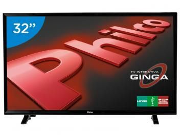 """TV LED 32"""" PH32E31DG - Conversor Integrado 2 HDMI 1 USB de R$ 1.299,00 por R$ 1.199,00."""