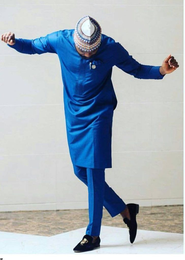 19 Blue Nigerian Native Styles For Male That Are Trending Couture Crib Nigerian Men Fashion African Men Fashion African Shirts For Men