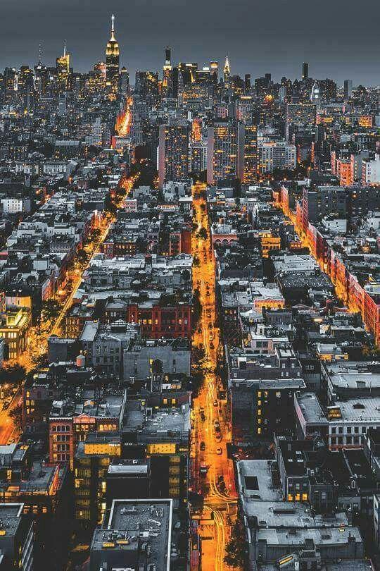 Urban Landscape Photography   Manhattan night