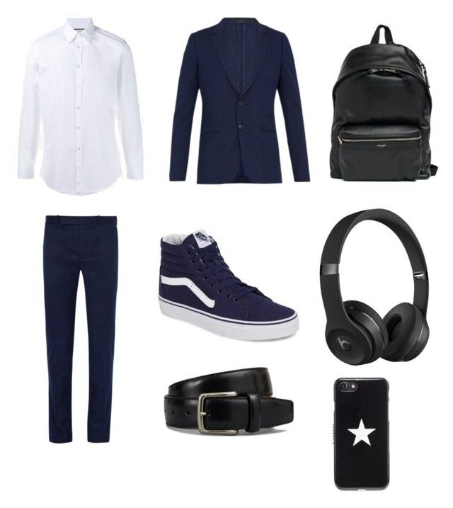 """""""New kid(Elias Worthswill)"""" by kittycat3402 ❤ liked on Polyvore featuring Gucci, Berluti, Paul Smith, Vans, Yves Saint Laurent, Beats by Dr. Dre, Tod's, Givenchy, men's fashion and menswear"""