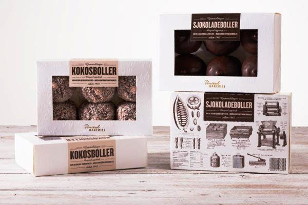 Kemasan Roti Biskuit dan Kue - Kokosboller United Bakeries Packaging