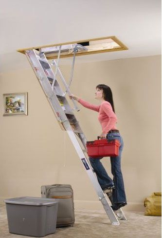Delicieux Retractable Loft Ladders   Google Search | Home In 2018 | Pinterest | Attic,  Loft And Attic Ladder