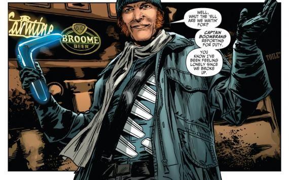 Capitán Bumerán en los cómics de Flash