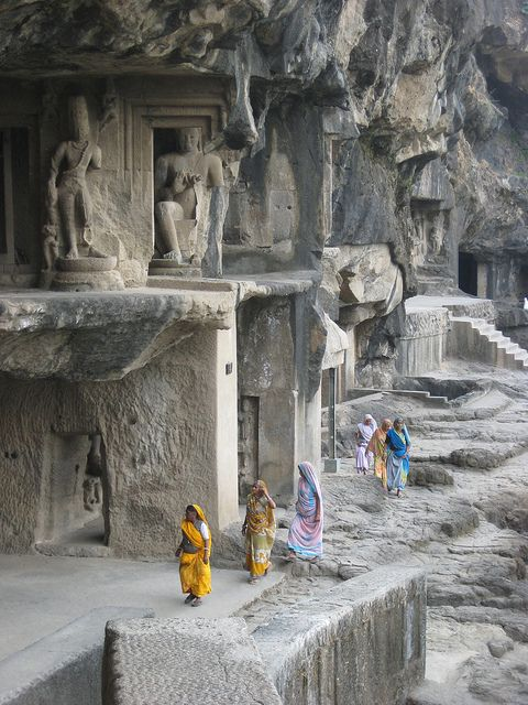 Tour Query:  http://vacation9.co.nz/tours | Ellora Caves, India