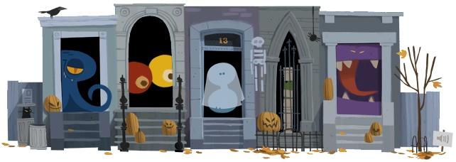Google Celebrates Halloween With An Interactive Google Doodle