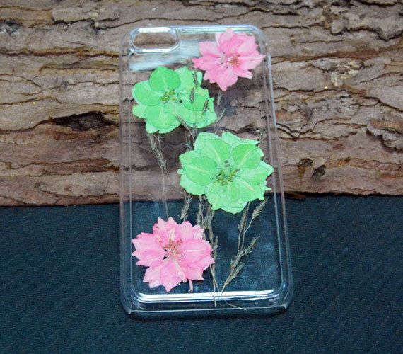 Personalized Floral Phone CasePressed flower iPhone by UUniquecase