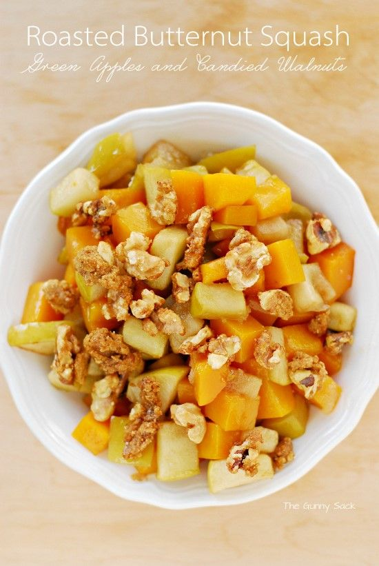 ... on Pinterest | Roasted butternut squash, Banana salad and Berry salad